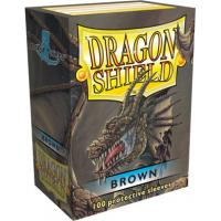 DRAGON SHIELD MARRON (100)