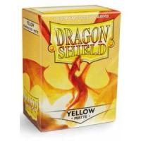 DRAGON SHIELD MATTE - YELLOW (100)