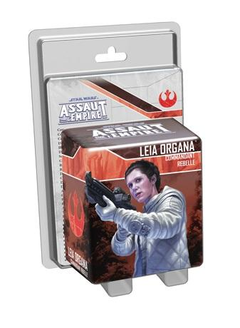 ASSAUT SUR L'EMPIRE : LEIA ORGANA COMMANDAN