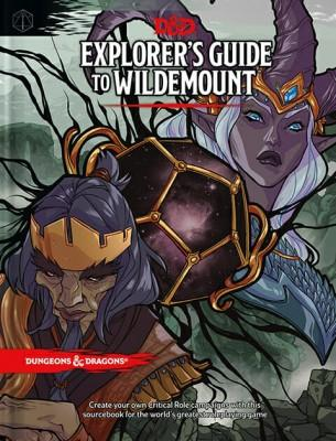 Dungeons & Dragons DD5 - Explorer's Guide to Wildemount