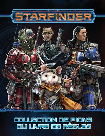 Starfinder : Collection de Pions du Livre de Base
