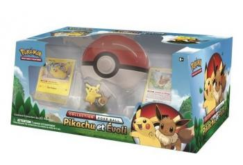 Coffret Poke Ball - Pikachu / Evoli
