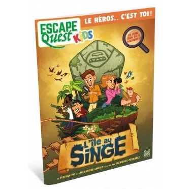 Escape Quest Kids - L'Île au Singe