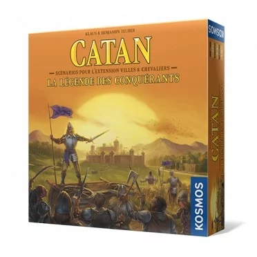 Catan : La légende Des Conquerants