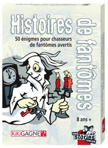 BLACK STORIES JUNIOR - HISTOIRES DE FANTOME