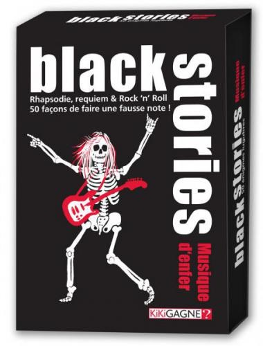 BLACK STORIES : MUSIQUE D'ENFER