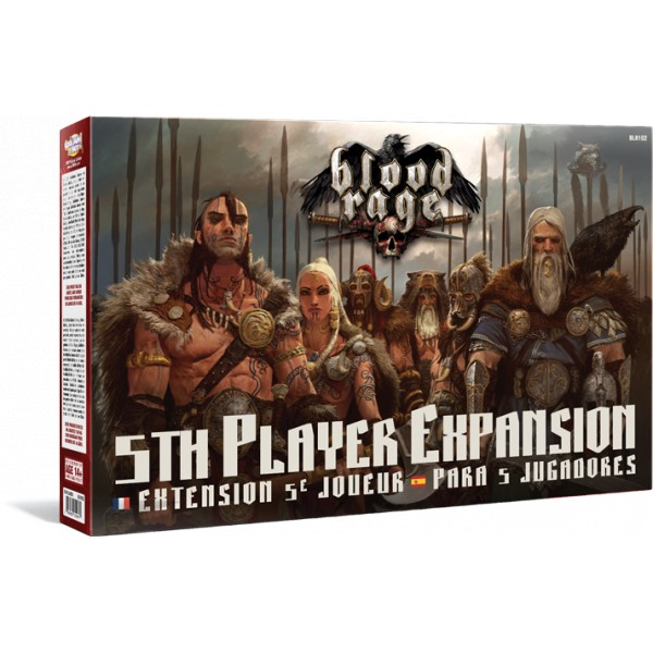 BLOOD RAGE : EXTENSION 5EME JOUEUR