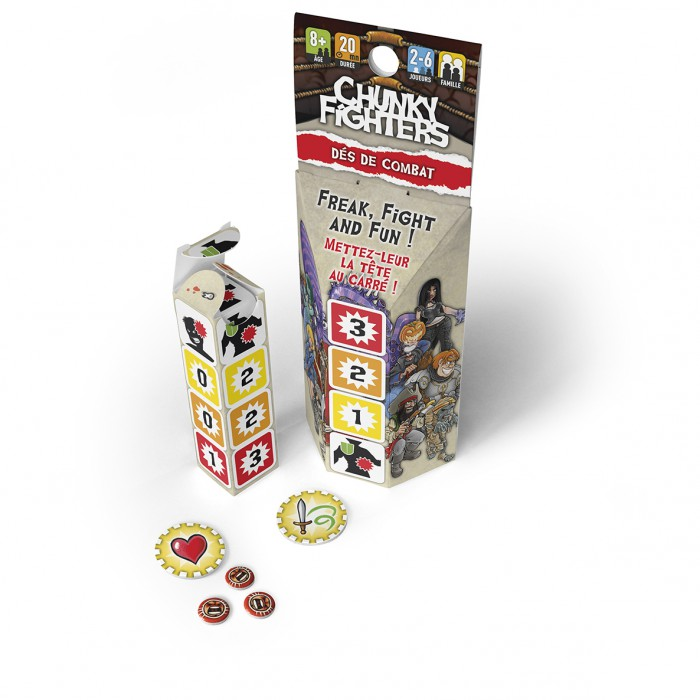 CHUNKY FIGHTERS : DES DE COMBAT