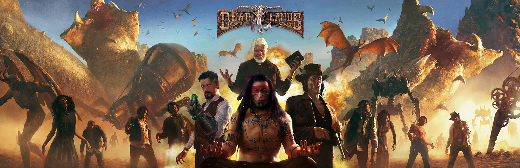 DEADLANDS RELOADED : ECRAN EPIQUE DU MARSHA