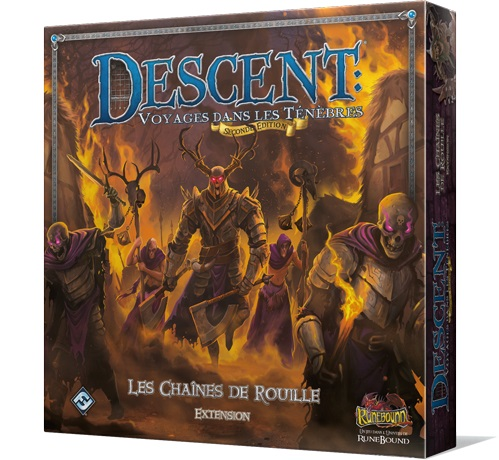 DESCENT : LES CHAINES DE ROUILLE