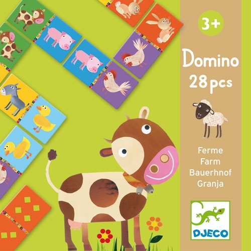 DOMINO FERME 28 PIECES