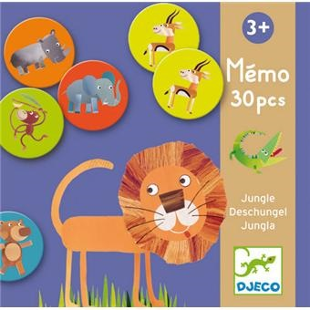 MEMO JUNGLE 30 PIECES