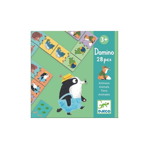Domino Animaux 28 pièces