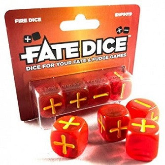 FATE DICE - FIRE DICE