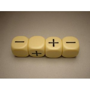 FUDGE DICE IVORY