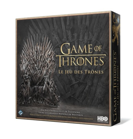 GAME OF THRONES - LE JEU DES TRONES