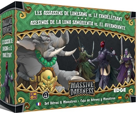 Massive Darkness : Les Assassins de Lunesang vs. le Pandéléphant