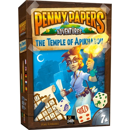 Penny Papers Adventures - The Temple Of Apikhabou