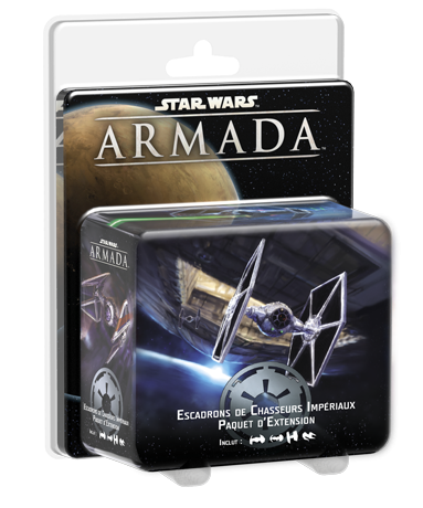 STAR WARS ARMADA : ESCADRONS CHASSEURS IMPE