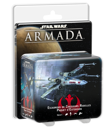 STAR WARS ARMADA : ESCADRONS CHASSEURS REBE