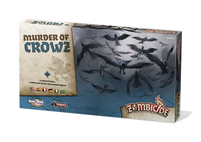 ZOMBICIDE BLACK PLAGUE : MURDER OF CROWZ