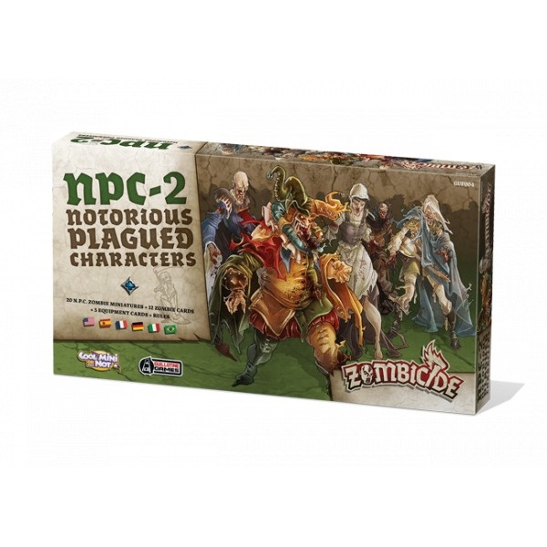 ZOMBICIDE BLACK PLAGUE : NOTORIOUS PLAGUED