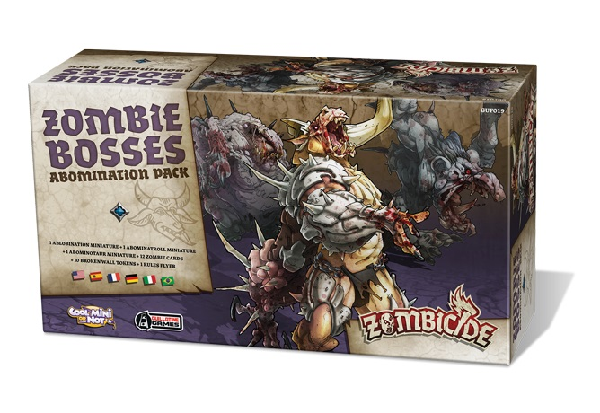 ZOMBICIDE BLACK PLAGUE : ZOMBIE BOSSES ABOM