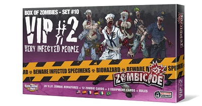 ZOMBICIDE : VIP #2 VERY INFECTED PEOPLE 2
